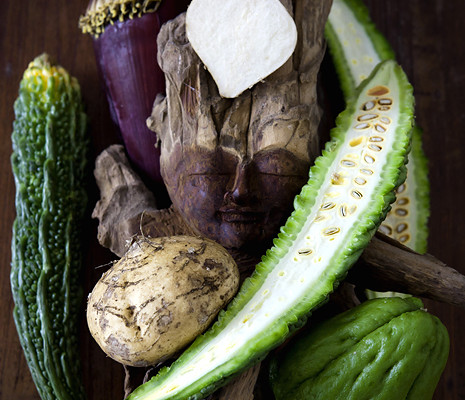 Balinese (Asian) vegetable Guide