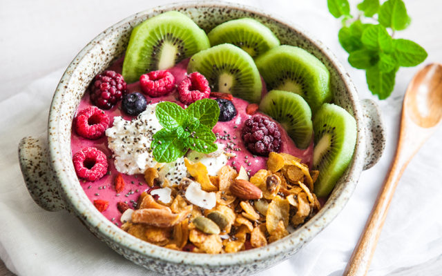 Coconut Berry Breakfast Bowl