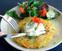 Hash Brown with Sauerkraut Filling. Recipe and Video.