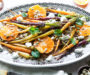 Roasted Baby Carrots and Quinoa Warm Salad. Vegetarian and GF Recipe.
